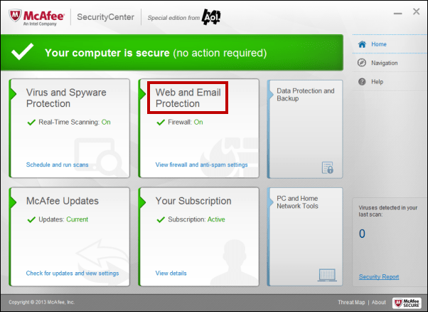 EASY WAY TO TEMPORARY DISABLE YOUR MCAFEE ANTIVIRUS
