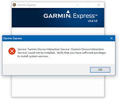 WHAT TO DO WHEN GARMIN EXPRESS NOT WORKING ON WINDOWS