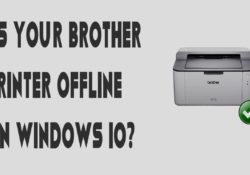 IS YOUR BROTHER PRINTER OFFLINE ON WINDOWS 10?