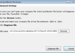 REPAIR YOUR COMPANY DAMAGED FILES WITH QBFD (QUICKBOOKS FILE DOCTOR)