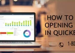 HOW TO ENTER OPENING BALANCE IN QUICKBOOKS ?