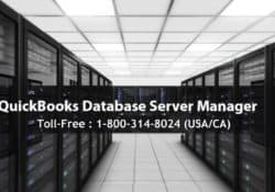 KNOW EVERYTHING ABOUT QUICKBOOKS DATABASE SERVER MANAGER