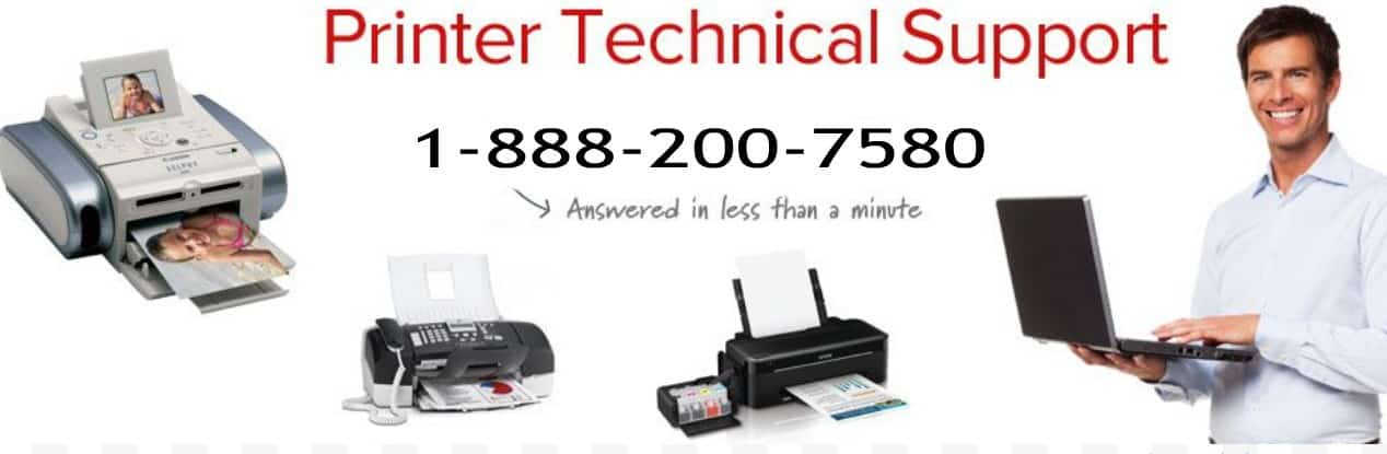 Printer Technical Support (1-888-200-7580)
