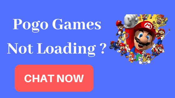 Pogo Games Not Loading