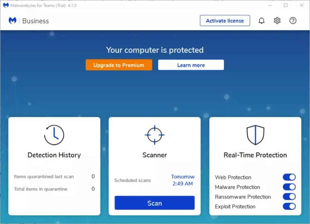 Malwarebytes Antimalware Program